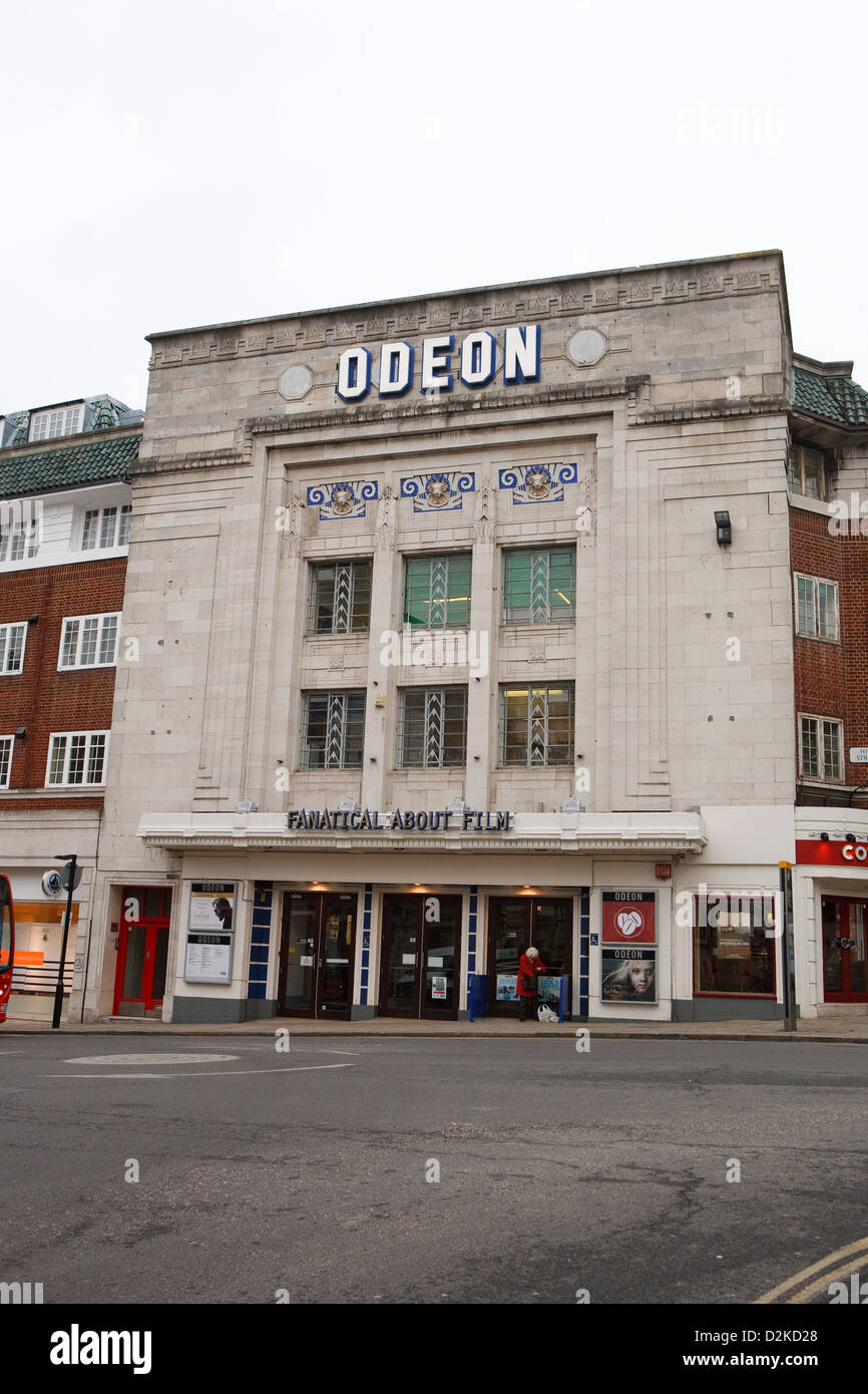 The Odeon cinema in Richmond Surrey - Stock Image