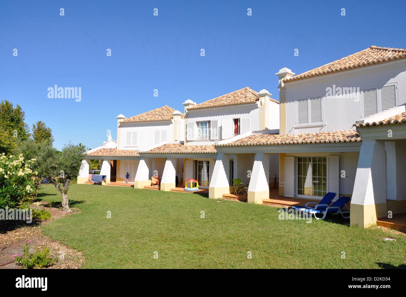 Holiday villas Gale, Algarve, Portugal Europe - Stock Image