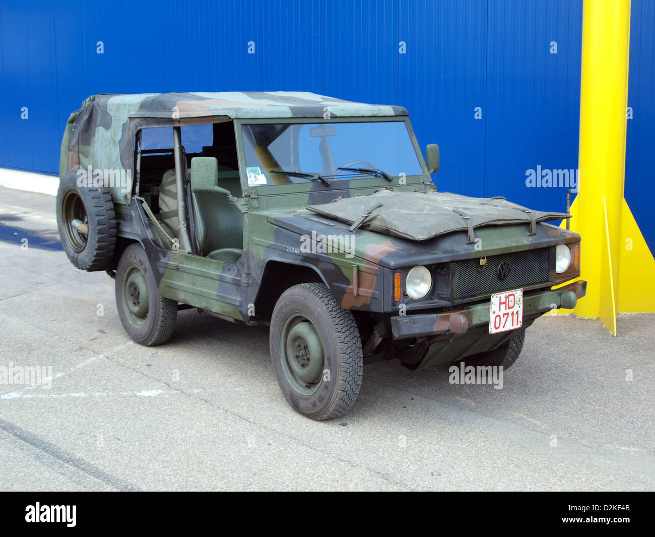 VW military jeep - Stock Image