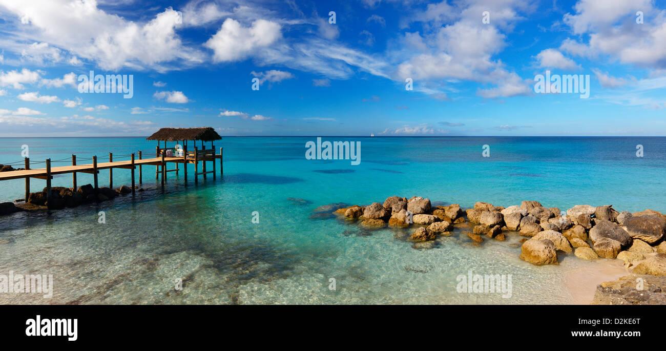 Bahamas seascape - Stock Image