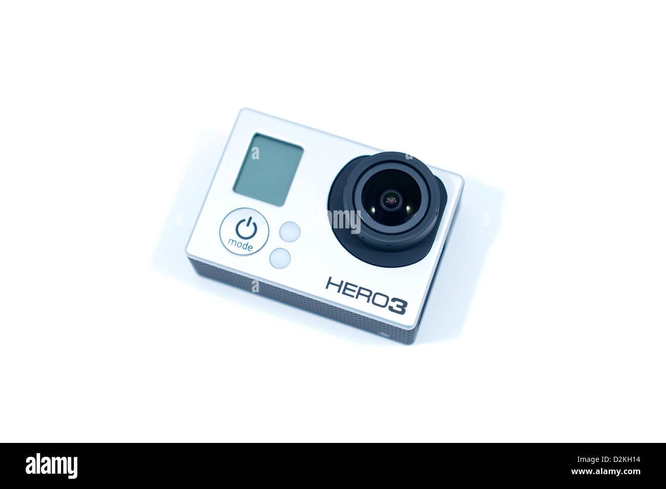 GoPro Hero 3 Black Edition camera - Stock Image