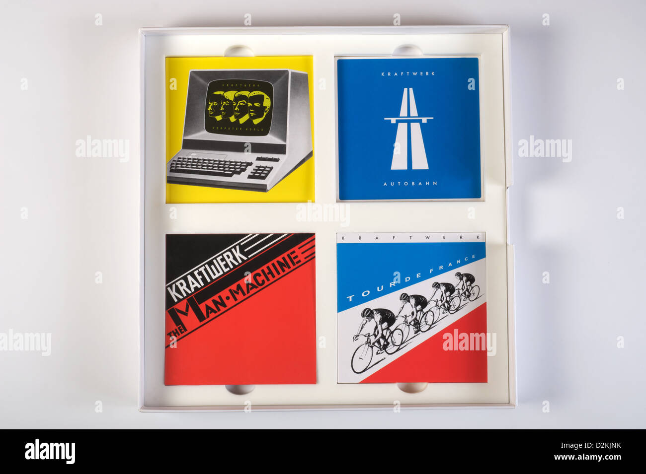 Kraftwerk The Catalogue box set Stock Photo