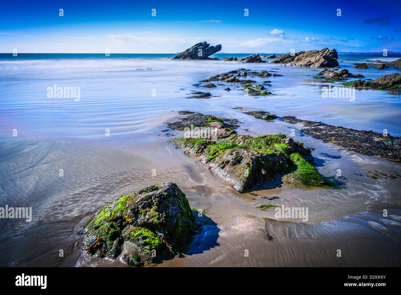 Broad Haven Beach - Stock Image