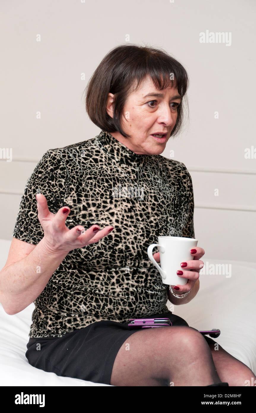 Rooms Older mature women in hotel