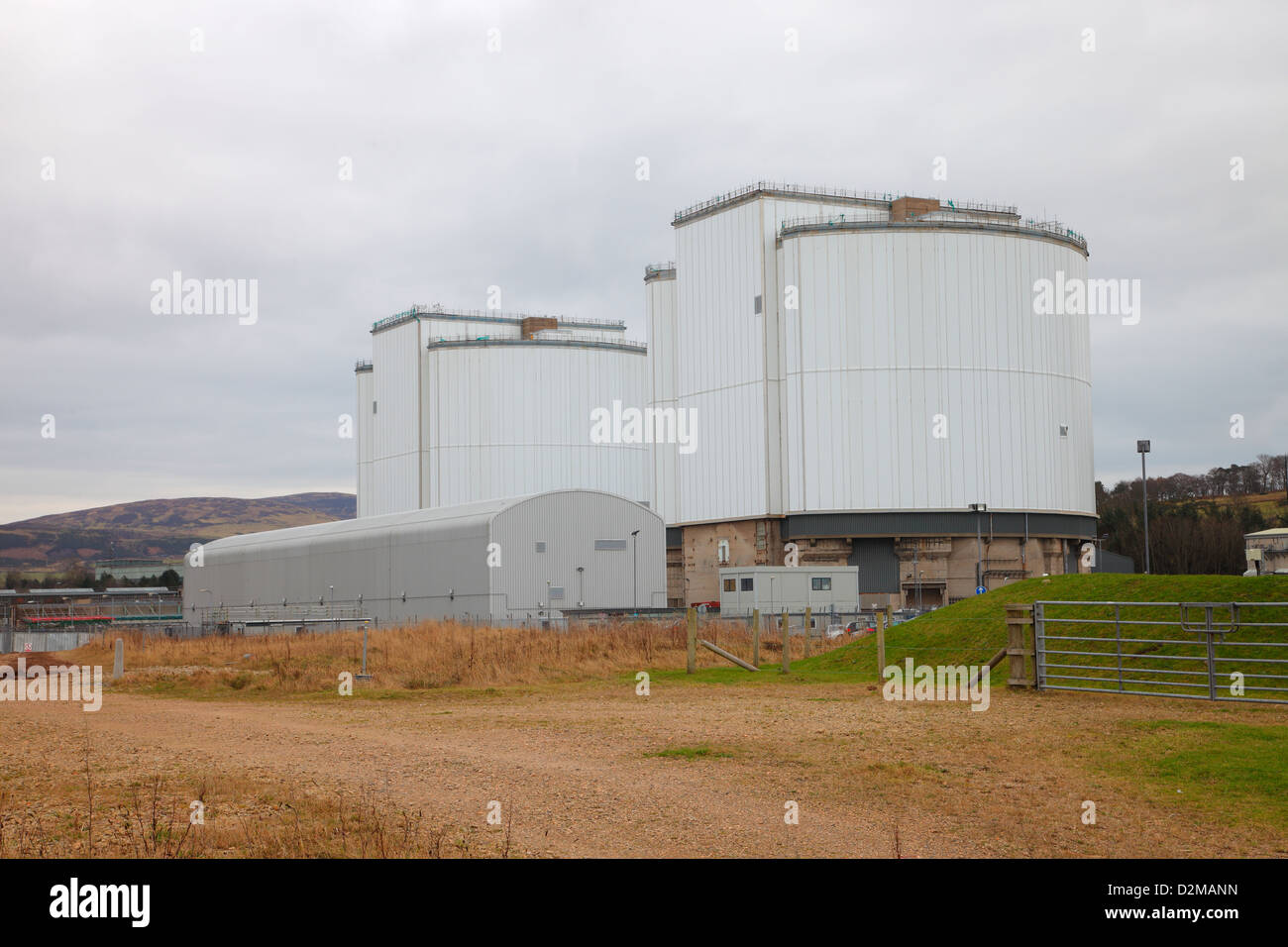 Hunterston A Nuclear Power Station near Largs in Ayrshire, Scotland. United Kingdom - Stock Image