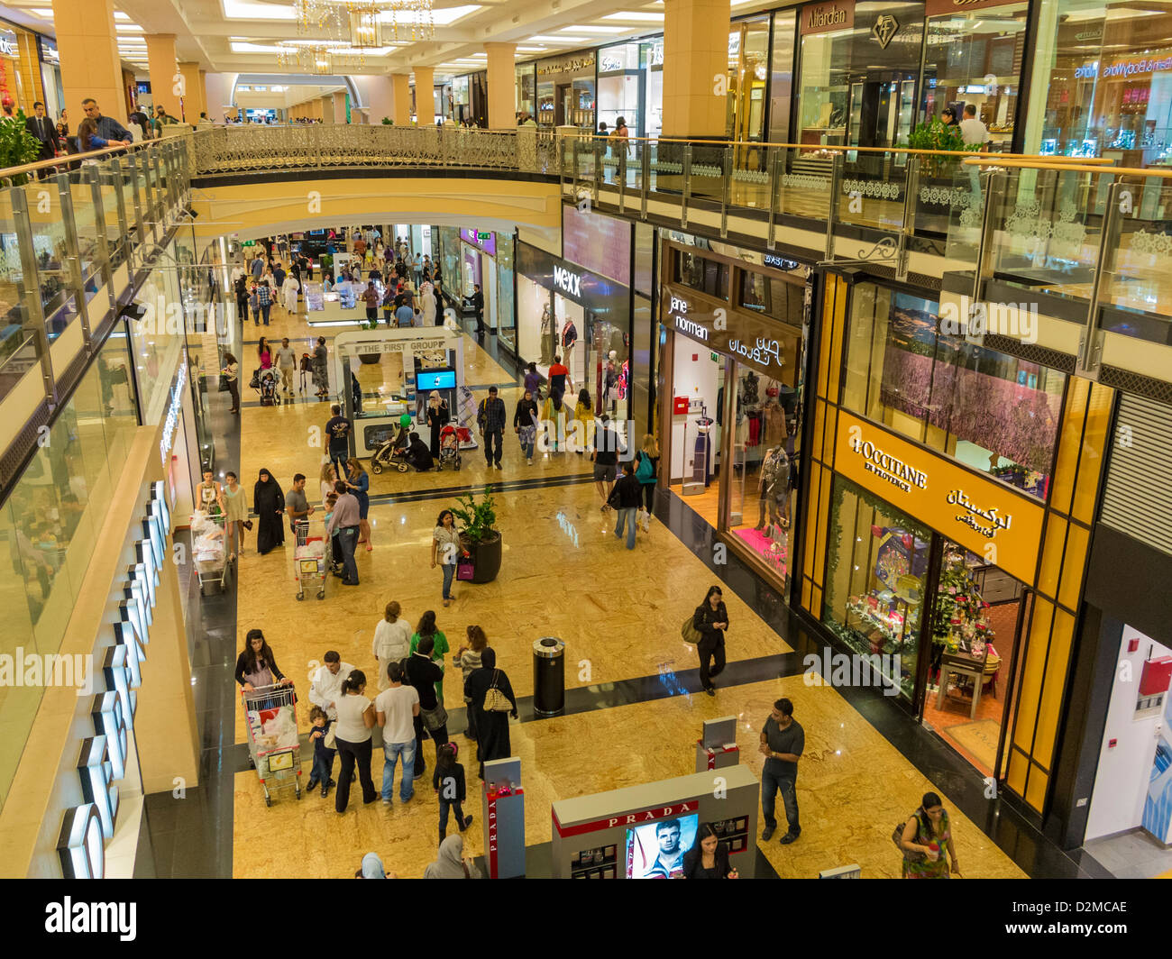The shopping Mall of the Emirates, Dubai - Stock Image