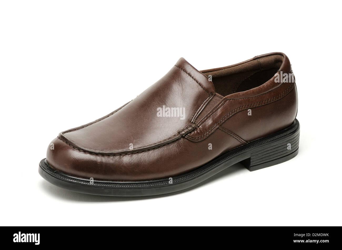 Man's shoe - Stock Image