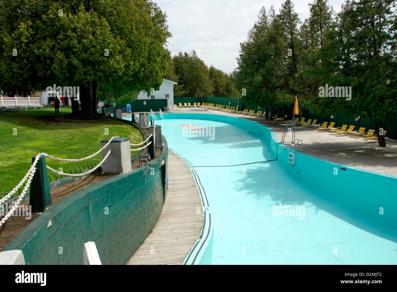 Esther Williams swim pool at Grand Hotel, Mackinac Island ...