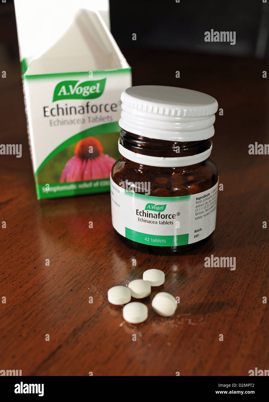 echinaforce echinacea tablets a natural remedy to help cure colds