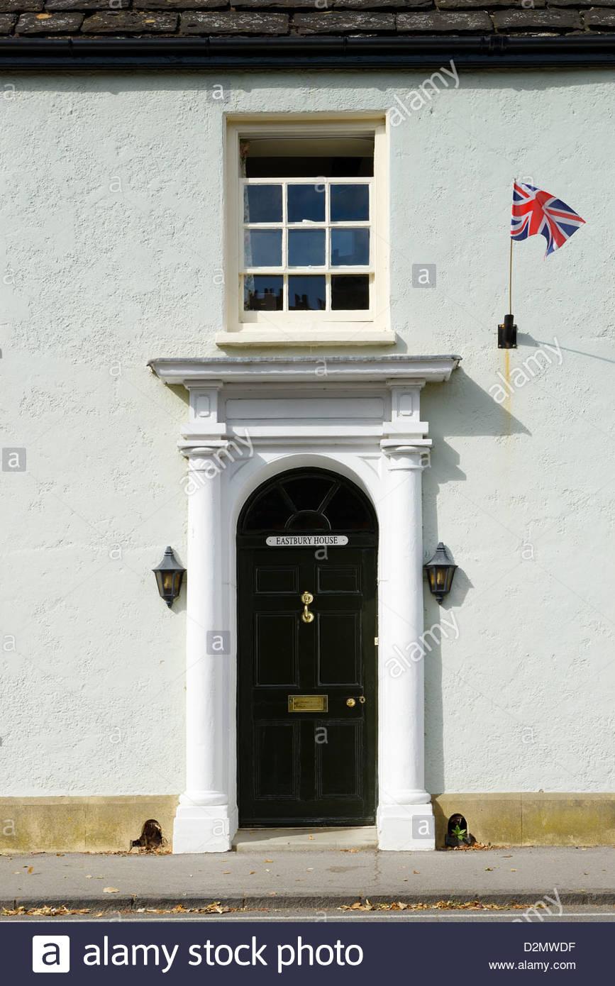 Eastbury House, Long Street, Sherborne, Dorset England - Stock Image
