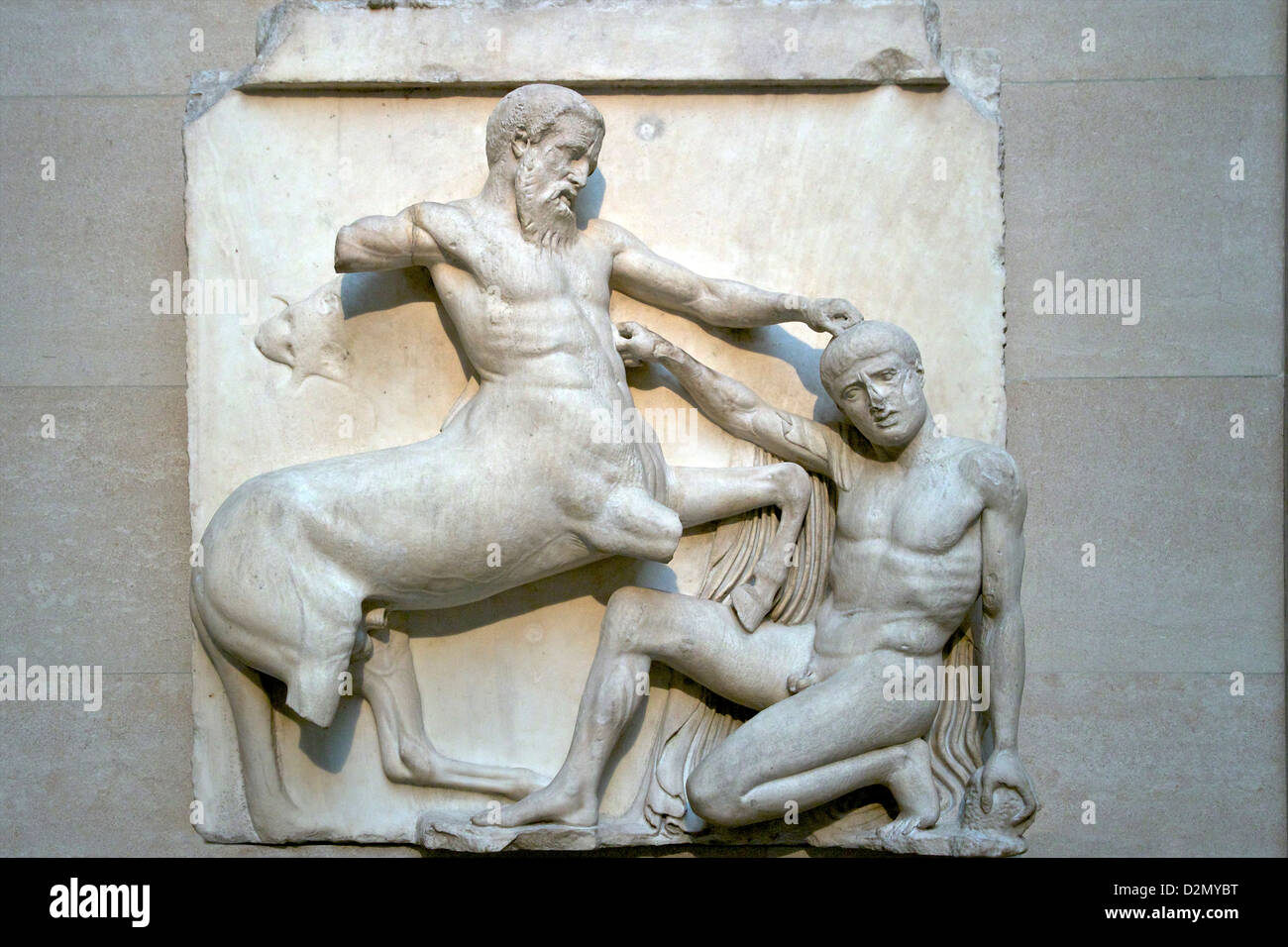 lapith fighting a centaur 27 parthenon sculpture: centaur and lapith marble relief, from the parthenon, athens, greece around 440 bc around 1800, lord elgin, the british ambassador to the ottoman empire, removed some of the sculptures from the ruins of the parthenon in athens, and a few years later put them on public show in london.