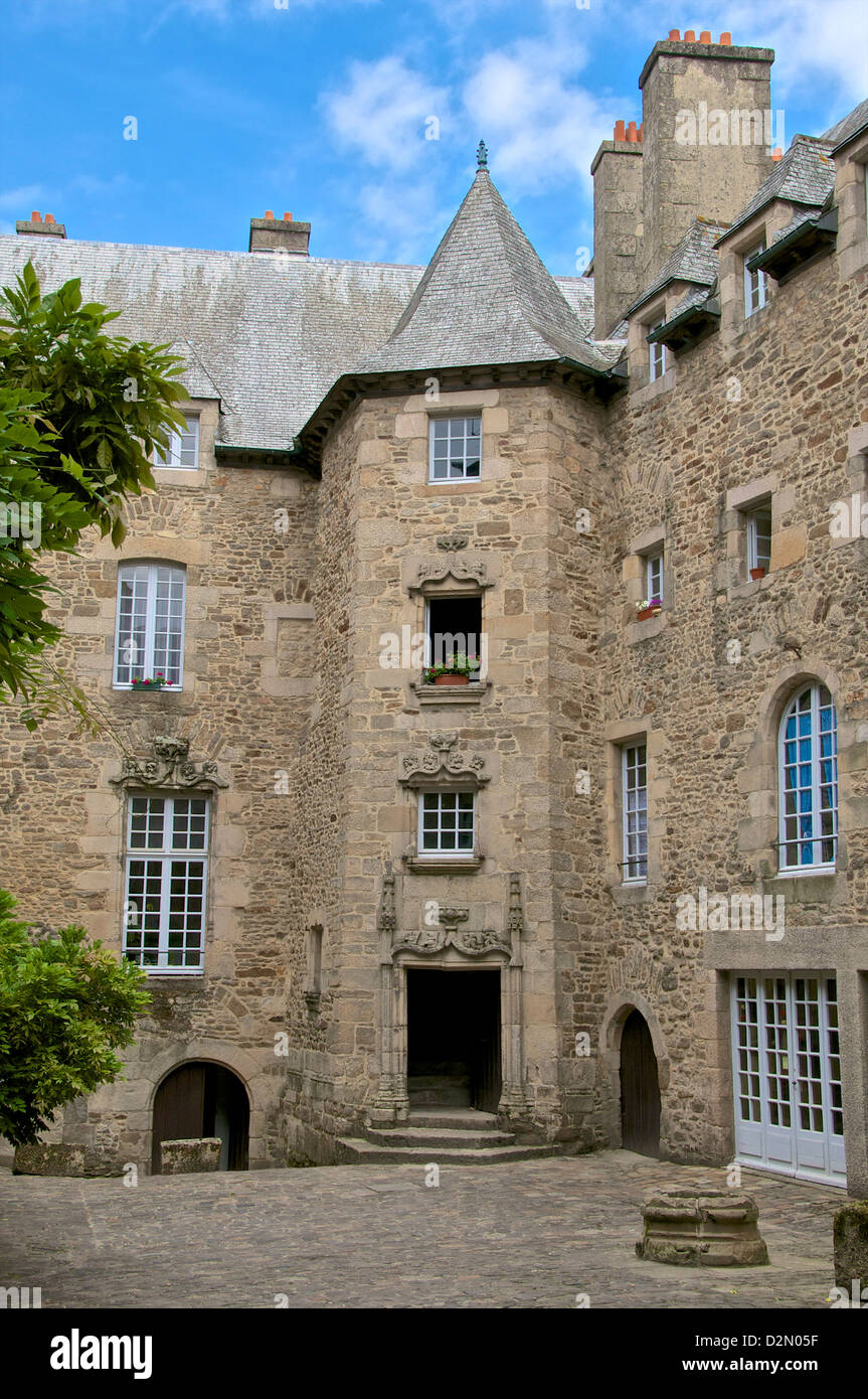 16th Century French Home - inner-courtyard-beaumanoir-mansion-house-dating-from-the-16th-century-D2N05F_Most Inspiring 16th Century French Home - inner-courtyard-beaumanoir-mansion-house-dating-from-the-16th-century-D2N05F  Pic_833916.jpg