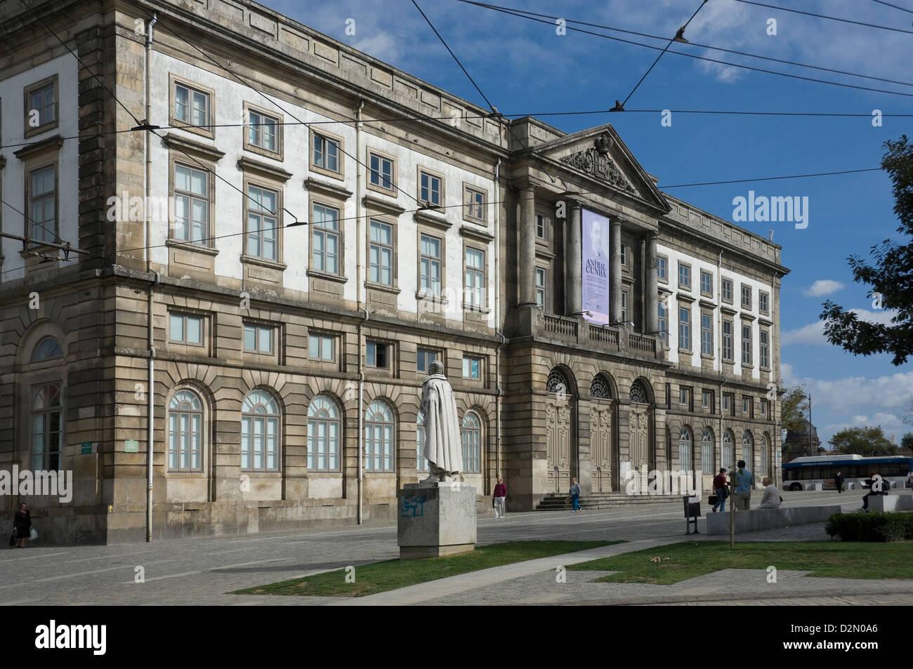 Natural History Museum, Oporto University, Oporto, Portugal, Europe - Stock Image