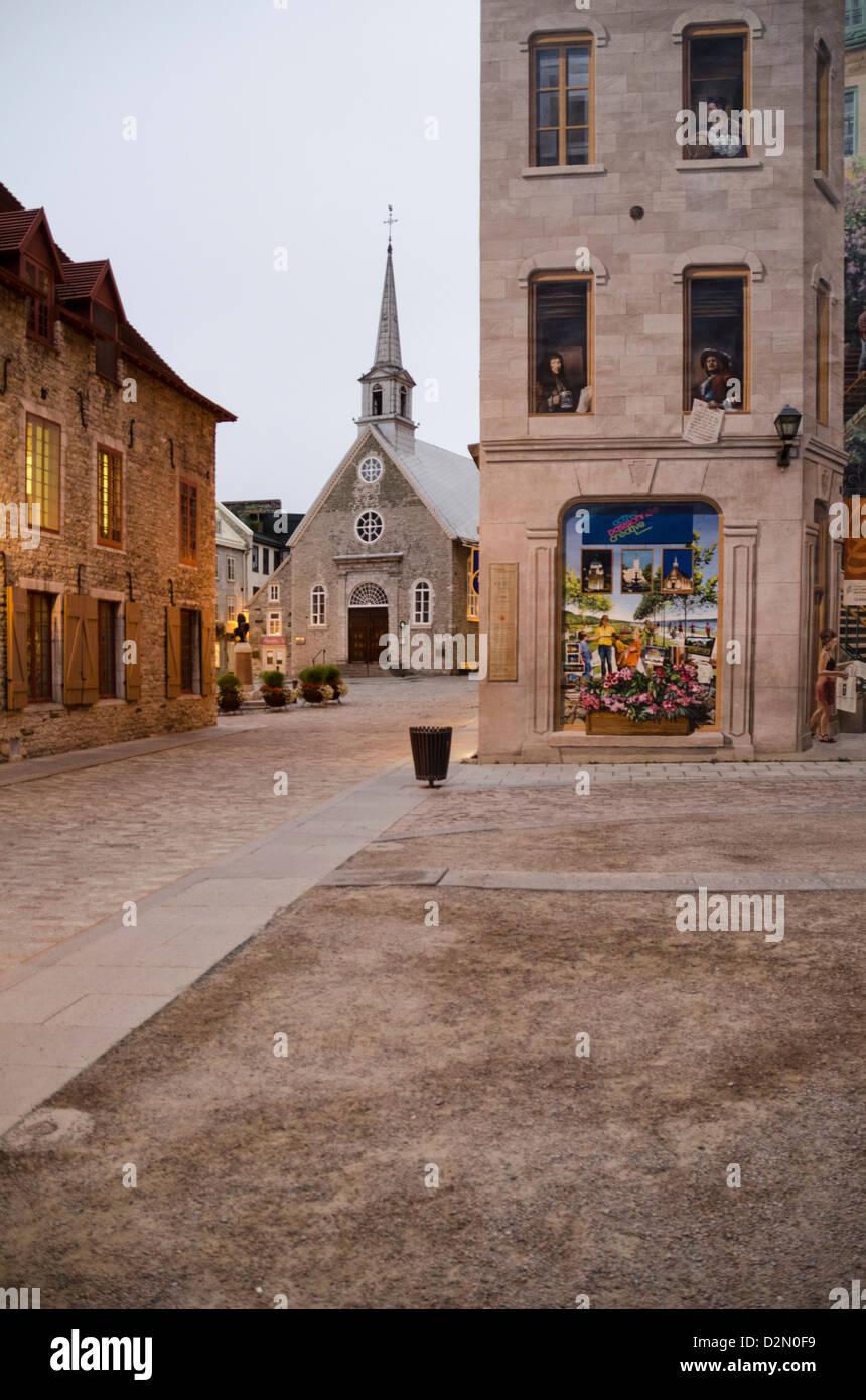 Quebec City, Province of Quebec, Canada, North America - Stock Image