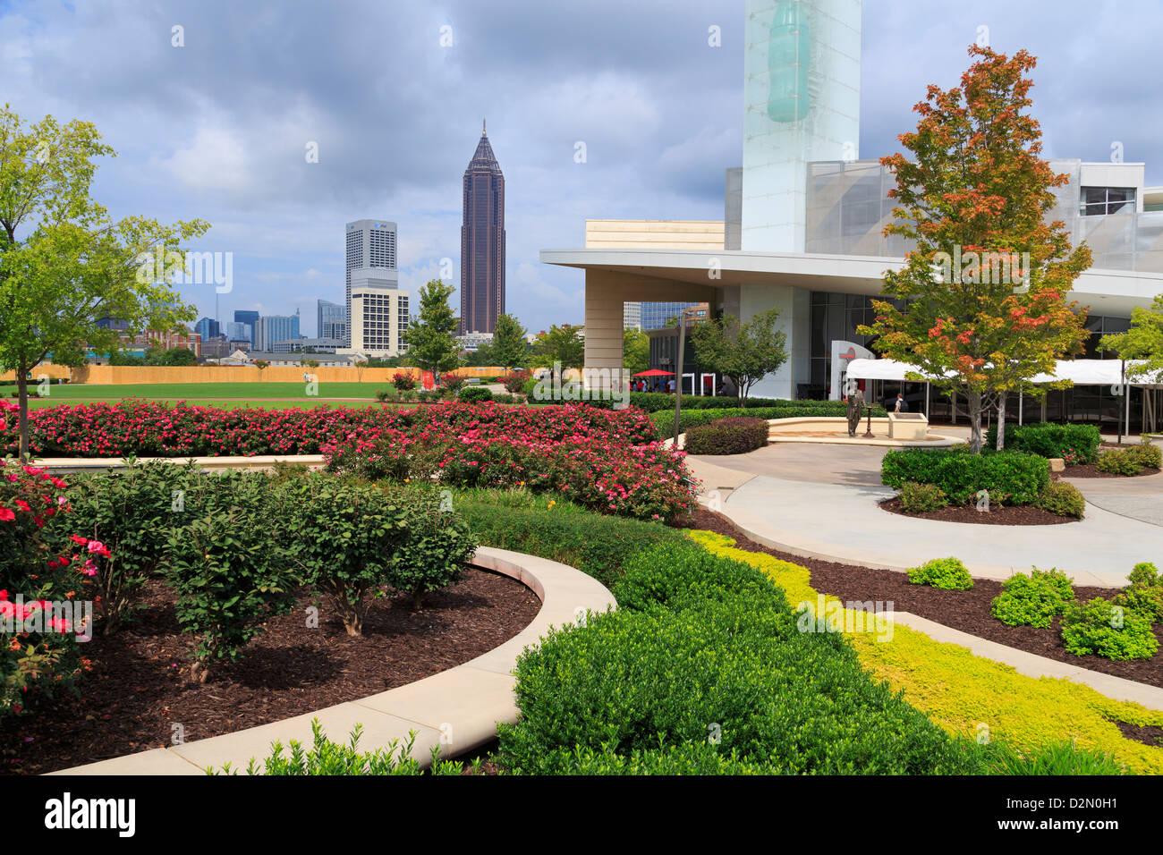 World of Coca Cola in Pemberton Park, Atlanta, Georgia, United States of America, North America - Stock Image