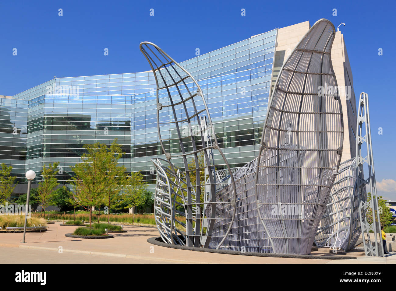 Lindsey-Flanigan Courthouse, Denver, Colorado, United States of America, North America - Stock Image