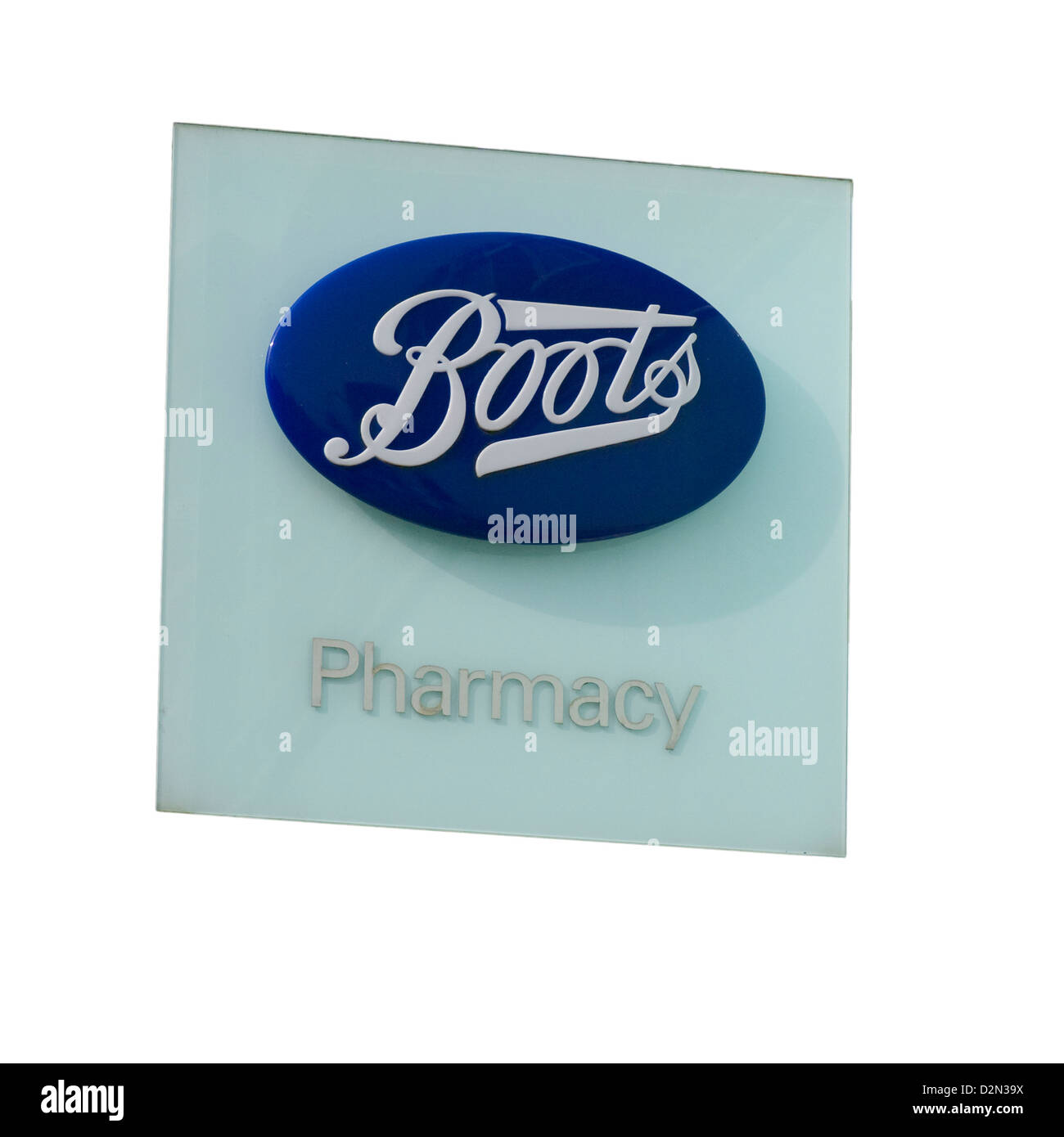 Boots Pharmacy Sign - Stock Image