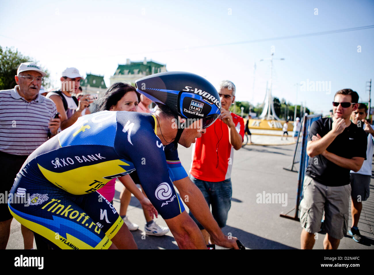 b797506ff Alberto Contador finished his time trial stage in Tour De San Luis 2013