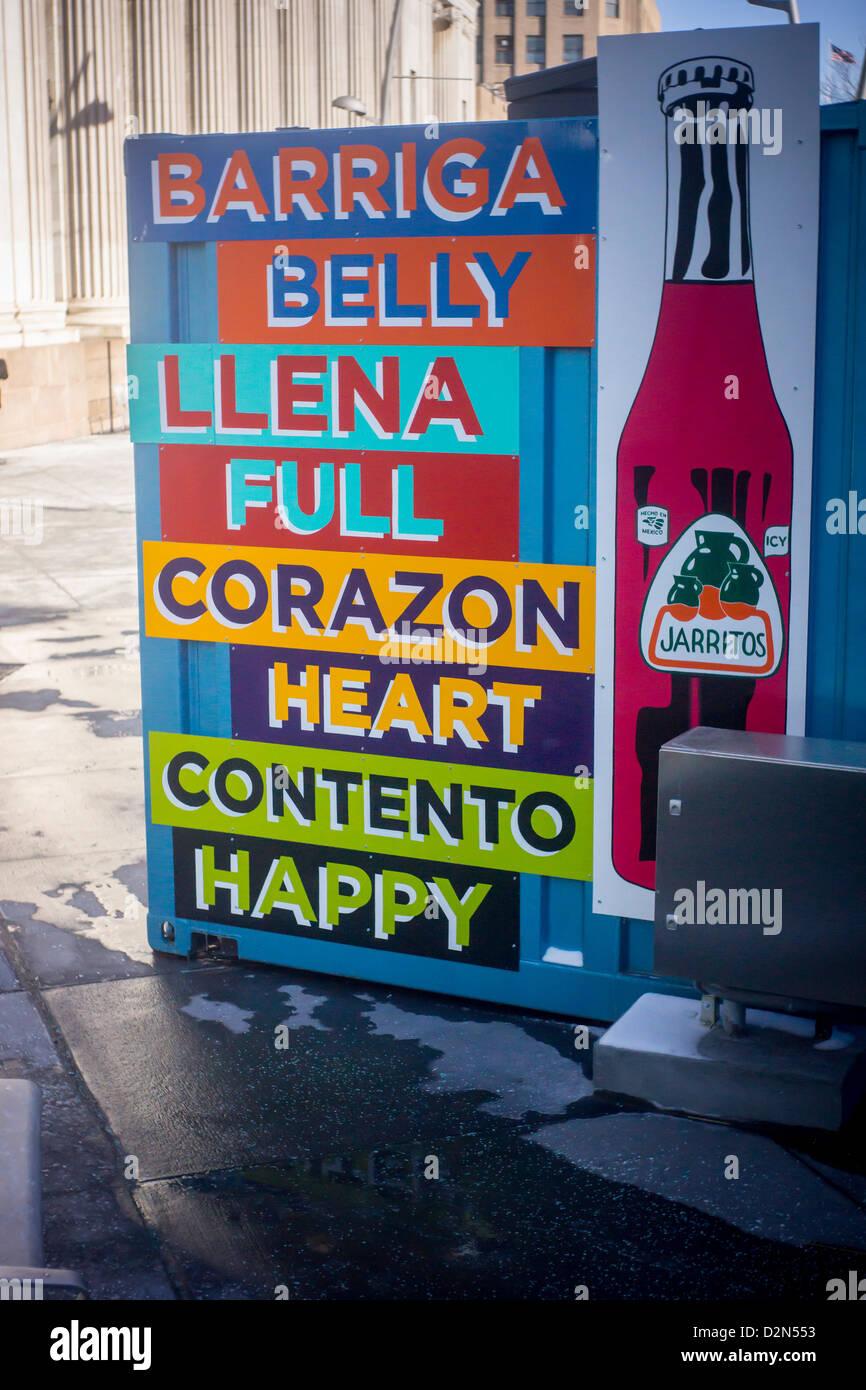 Neighborhood Food Stand Hispanic Stock Photos & Neighborhood Food