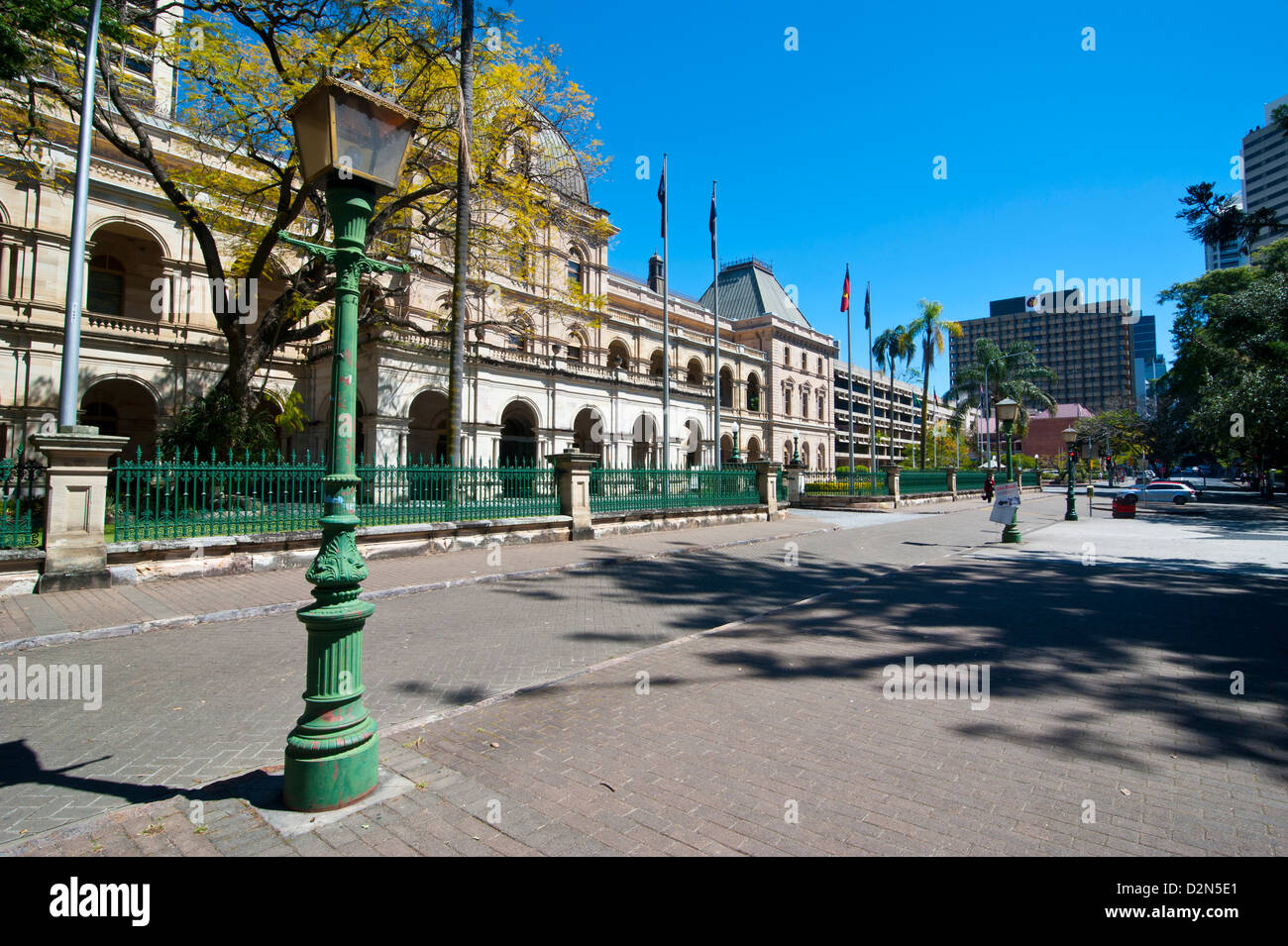 Parliament House, Brisbane, Queensland, Australia, Pacific - Stock Image
