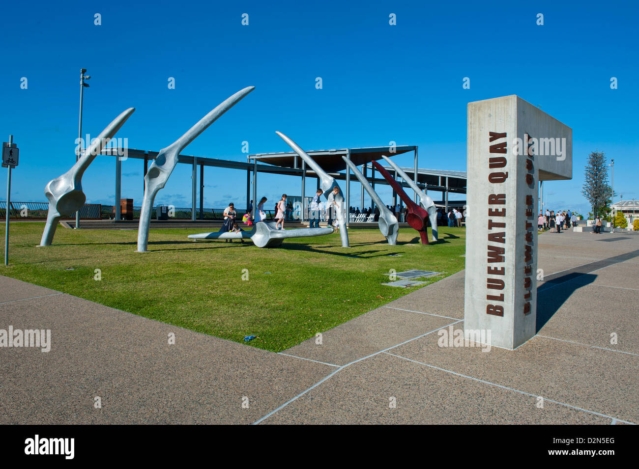 Bluewater Quay, downtown Mackay, Queensland, Australia, Pacific - Stock Image