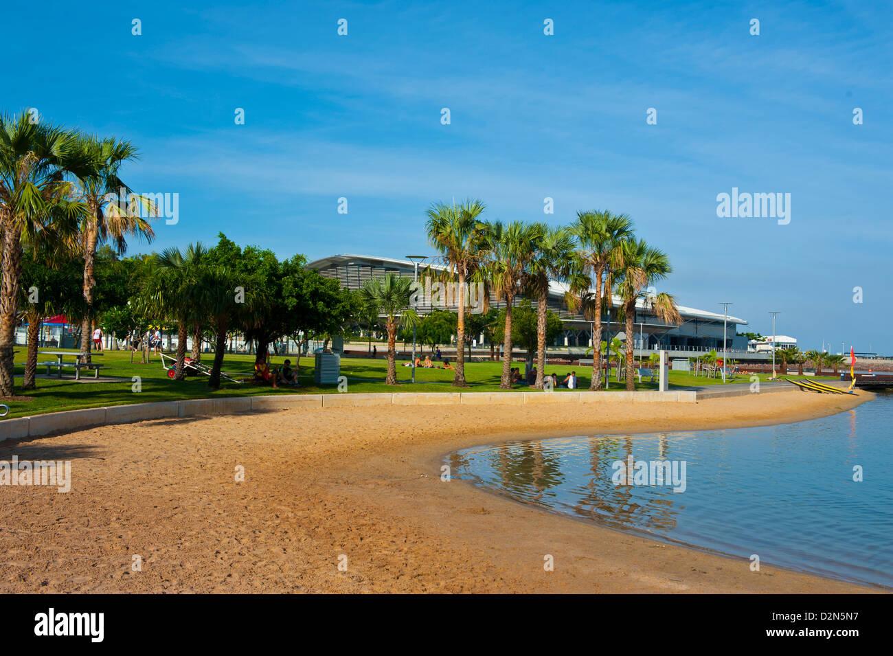 The modern pier of Darwin, Northern Territory, Australia, Pacific - Stock Image