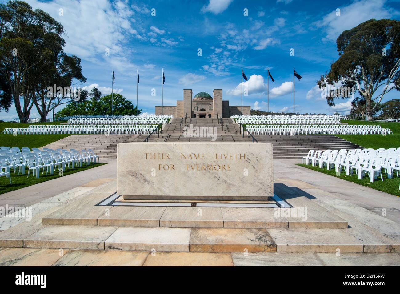 Australian War Memorial, Canberra, Australian Capital Territory, Australia, Pacific - Stock Image