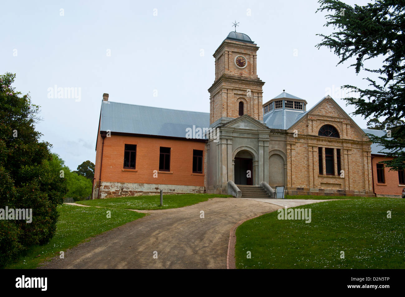 Australian Convict Site. UNESCO World Heritage Site, Port Arthur, Tasmania, Australia, Pacific - Stock Image