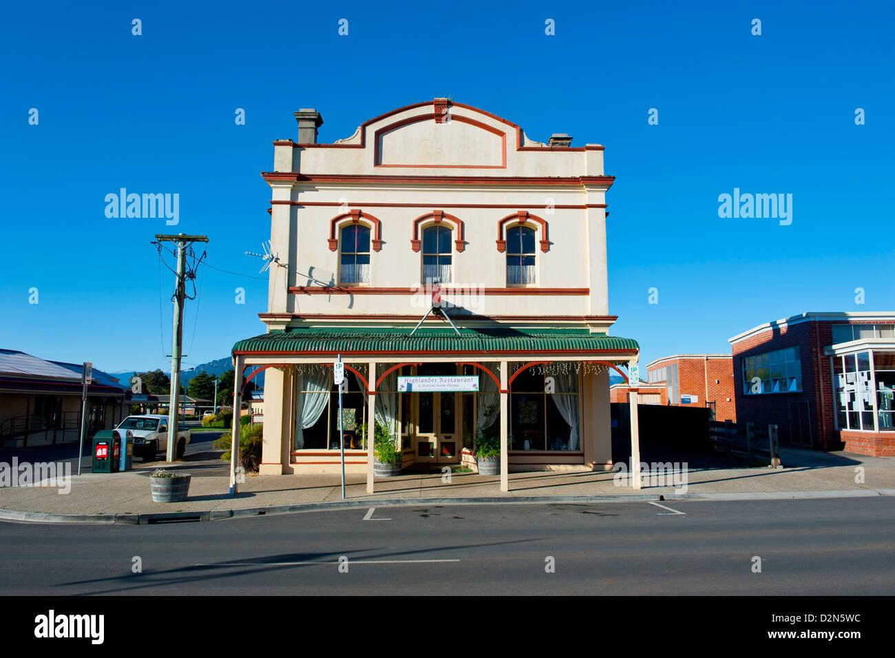 Historic town of Sheffield, Tasmania, Australia, Pacific - Stock Image