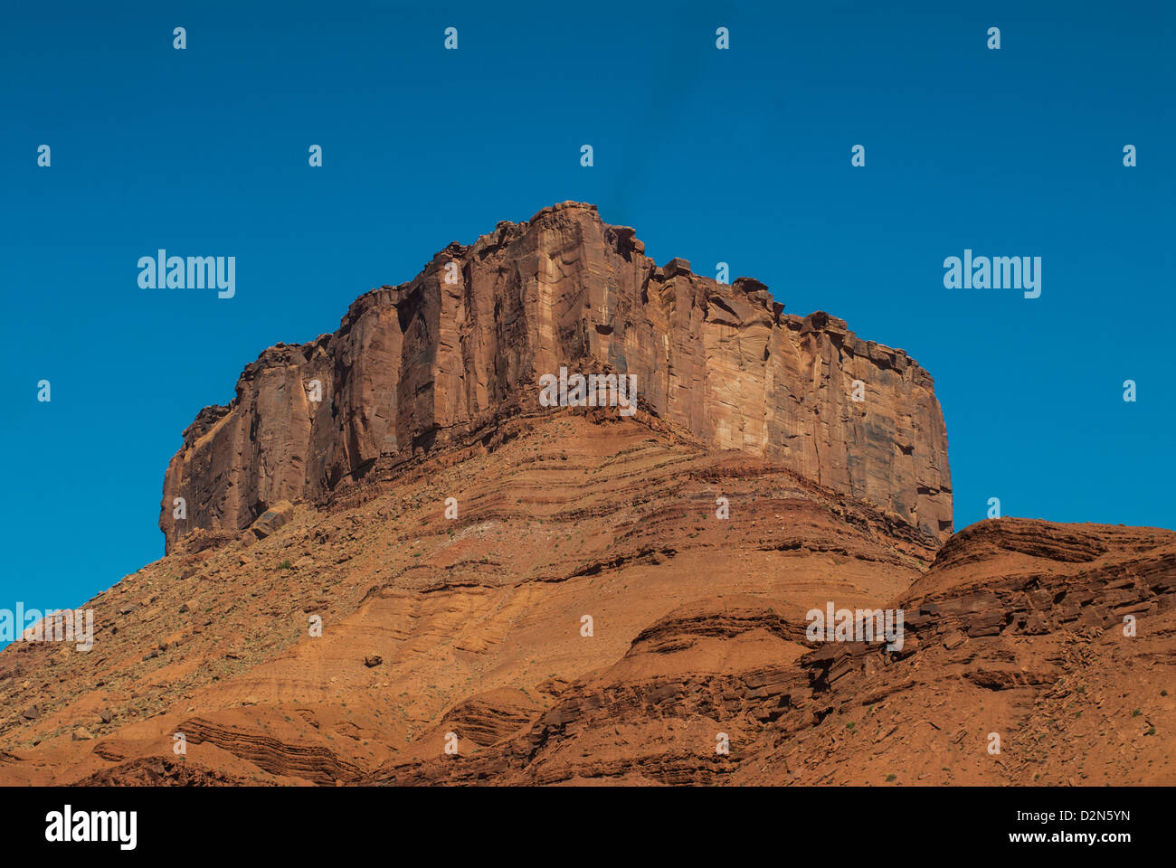 The Fisher Towers in Castle Valley, near Moab, Utah, United States of America, North America Stock Photo