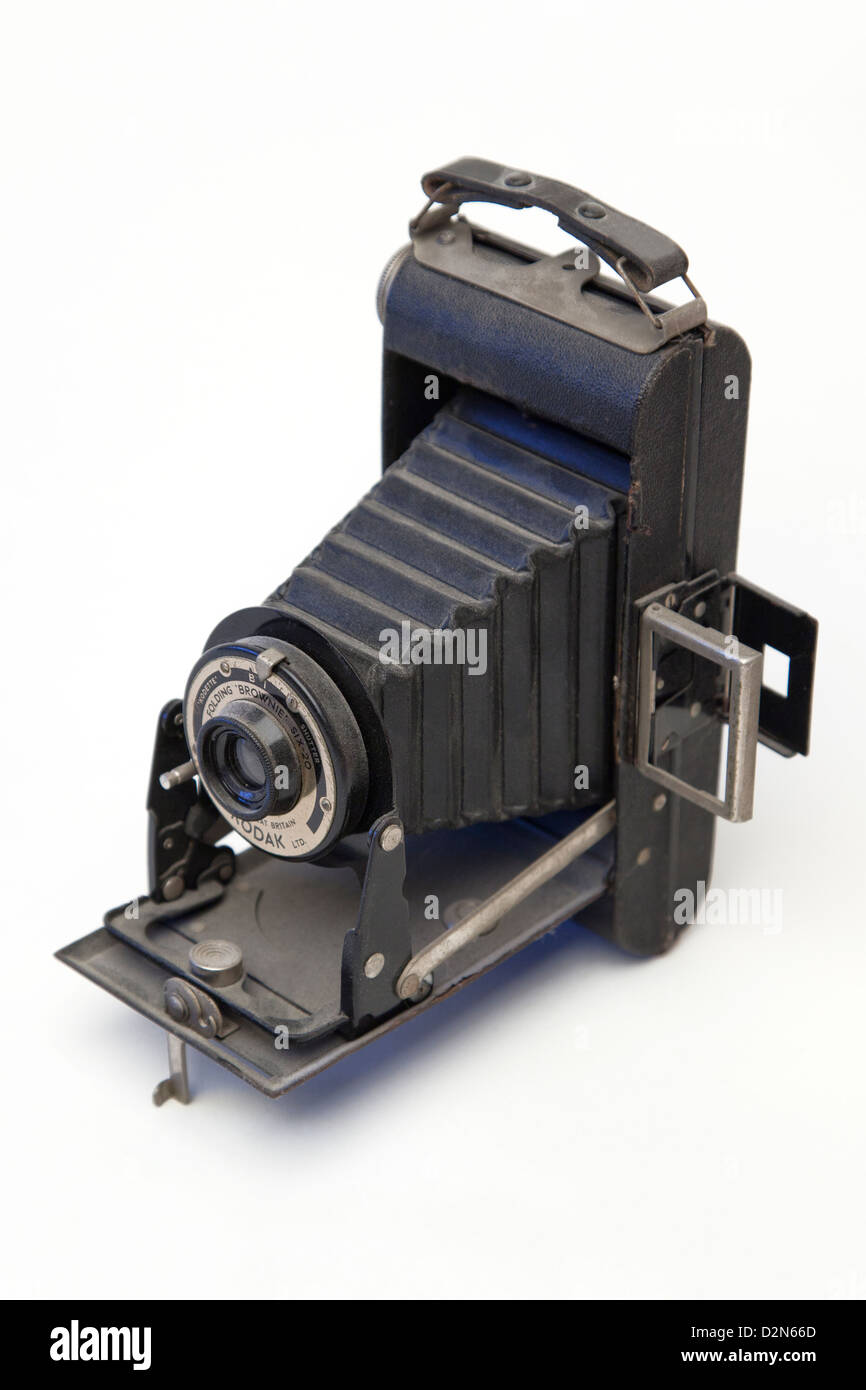 A Still life of a vintage camera - Stock Image