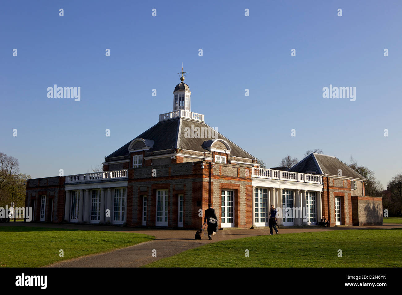 The Serpentine Gallery, Kensington Gardens, London, England, United Kingdom, Europe - Stock Image