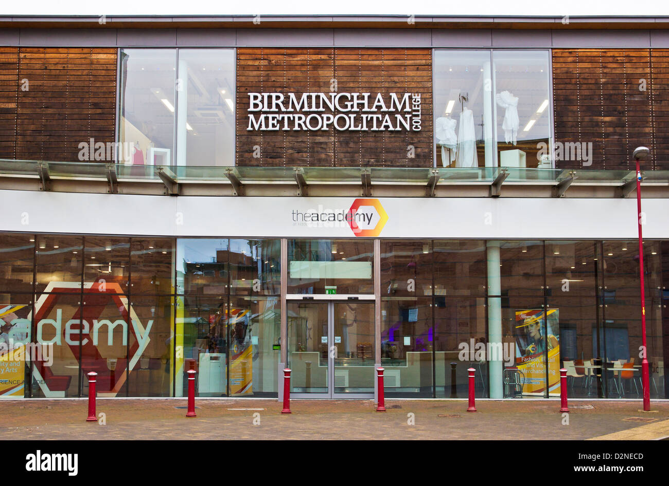 The Academy at Kidderminster Birmingham Metropolitan College - Stock Image