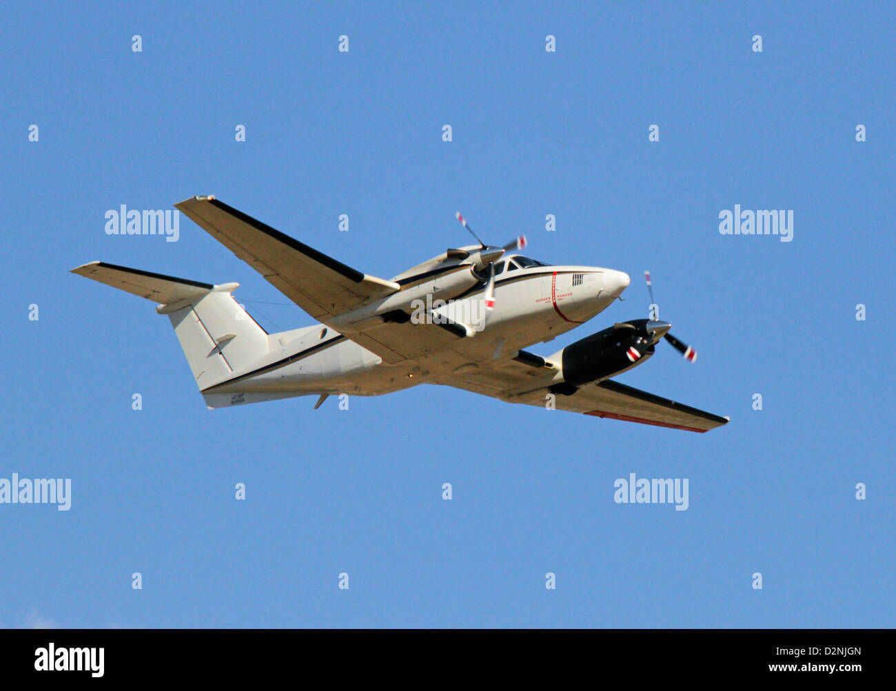 Beechcraft UC-12F Huron of USA Marine Corps - Stock Image