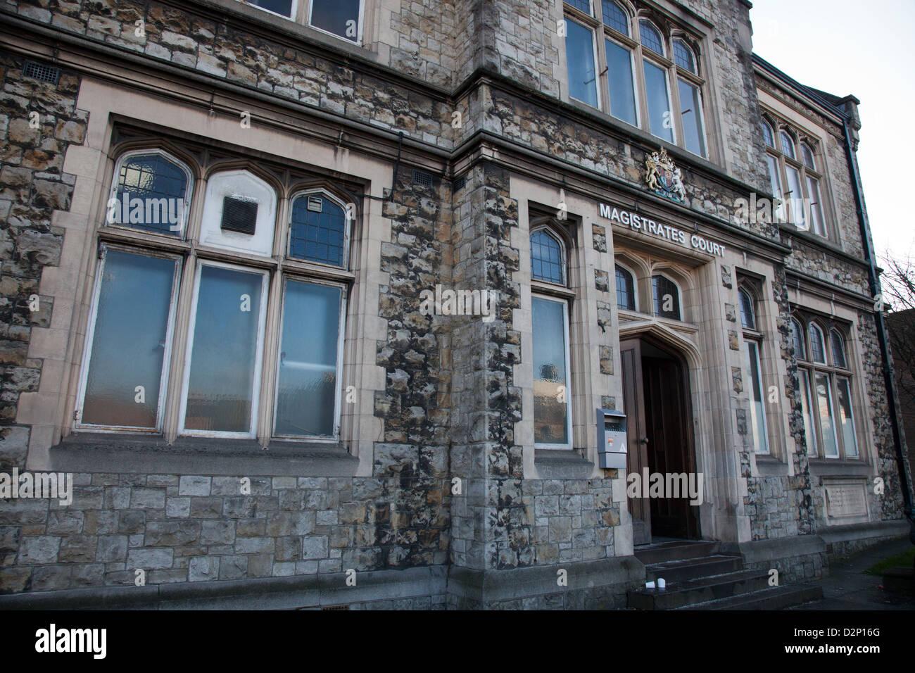 Maidstone Magistrates Court, Kent - Stock Image