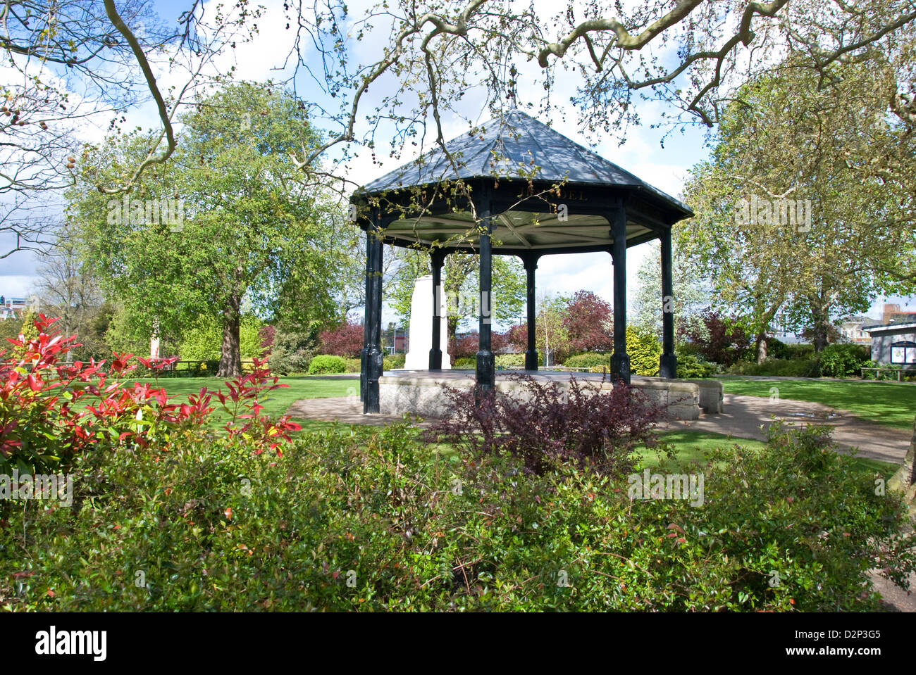 Brenchley Gardens Maidstone - Stock Image