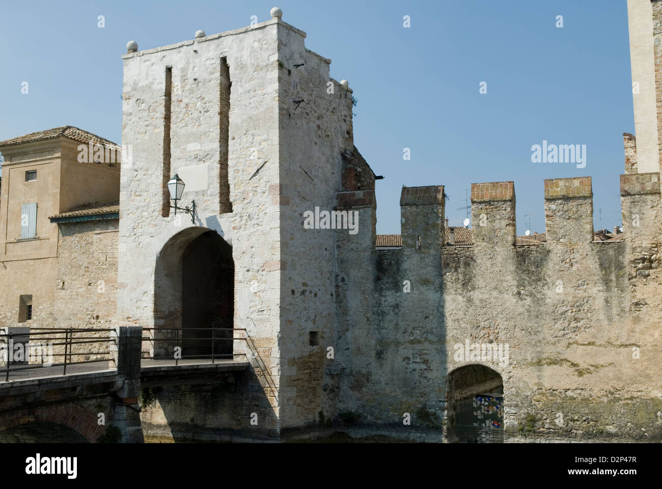 Sirmione Lombardy Italy travel tourism - Stock Image