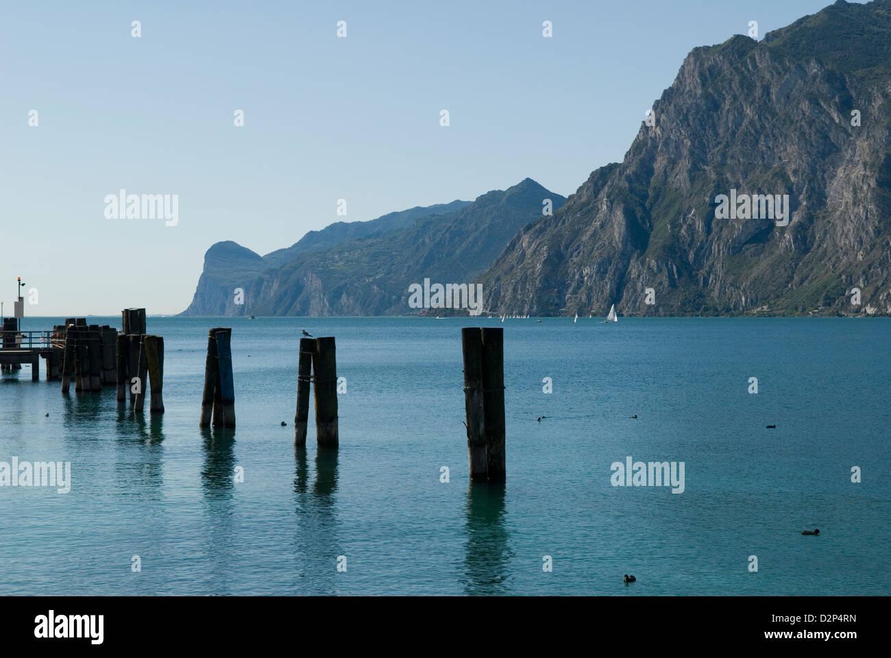 Torbole Trentino-Alto Adige Italy travel tourism Stock Photo