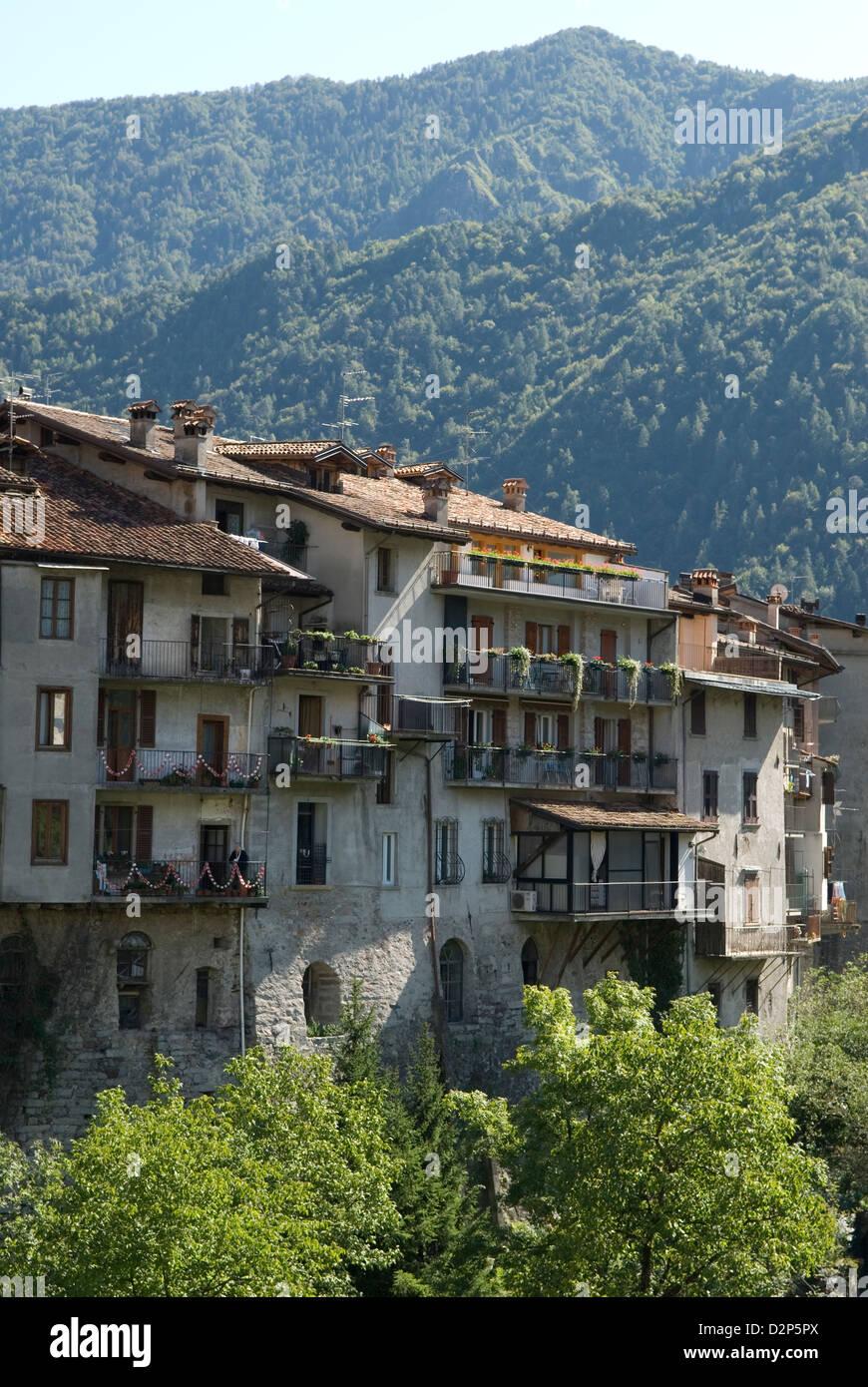Bagolino Lombardy Italy travel tourism Stock Photo