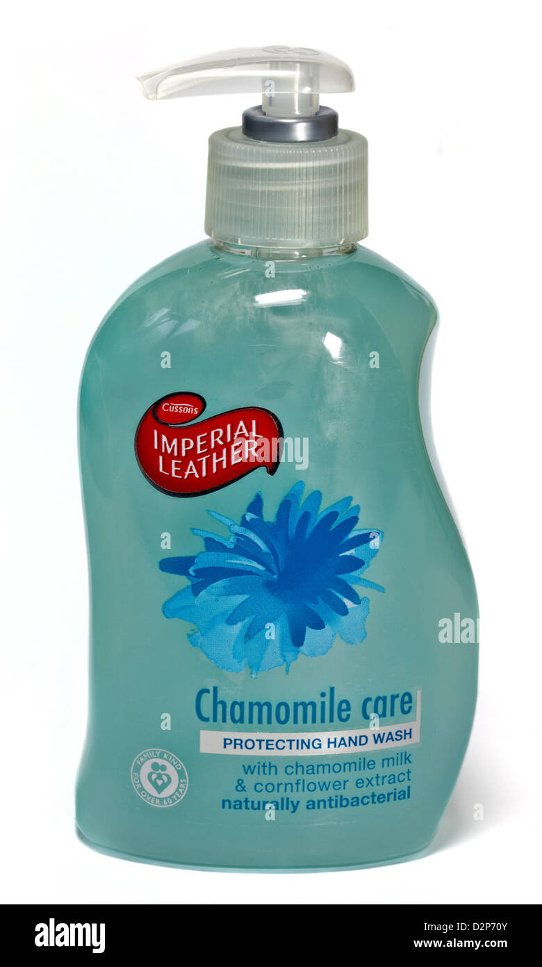 Cussons Imperial Leather Chamomile Hand Wash - Stock Image