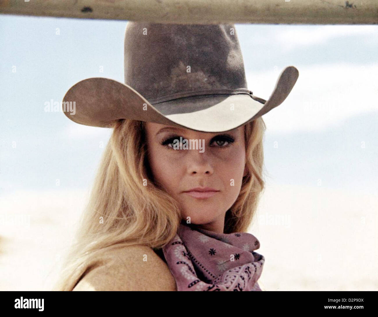 THE TRAIN ROBBERS 1973 Warner Bros film with Ann-Margaret - Stock Image