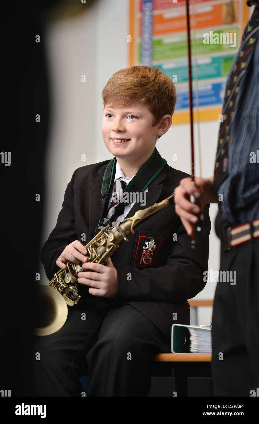 young school sax photo