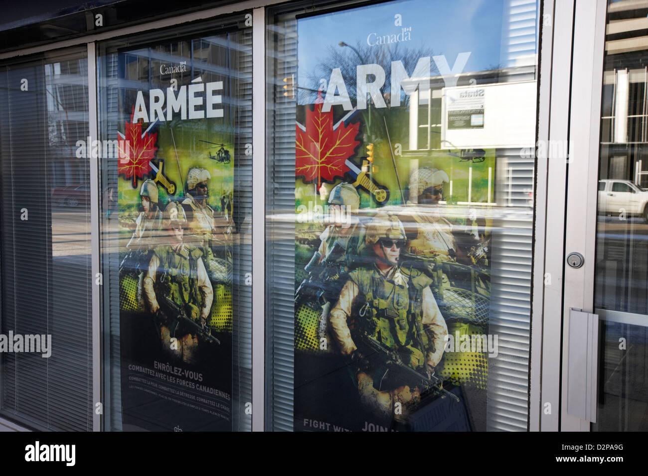 Army Recruitment Posters Stock Photos & Army Recruitment