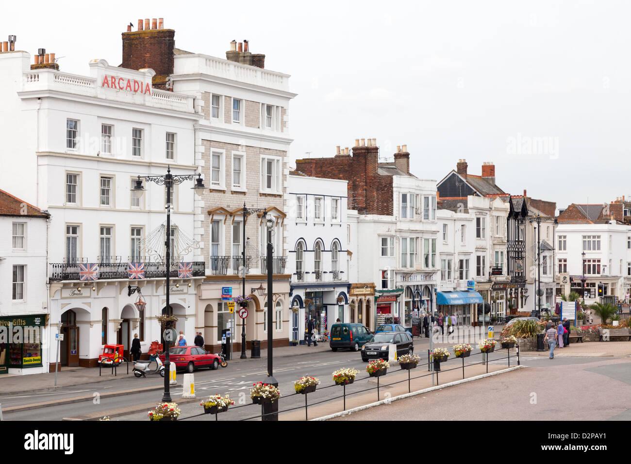 Ryde, Isle of Wight, UK, England. - Stock Image
