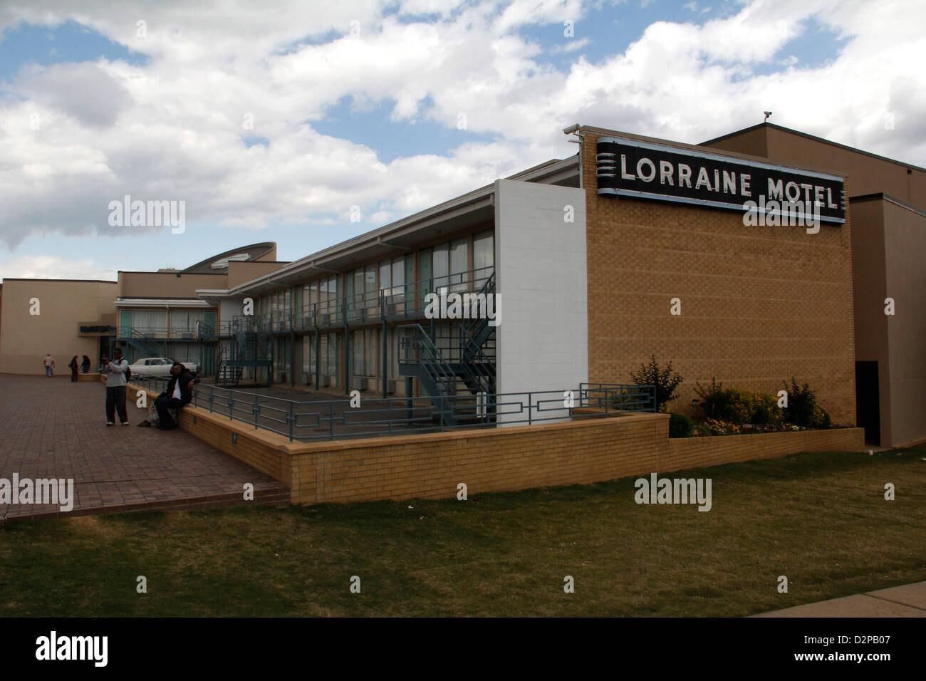 Lorraine Motel memorial National Civil Rights Museum Room 306 Martin Luther King Jr. was assassination site Memphis Stock Photo