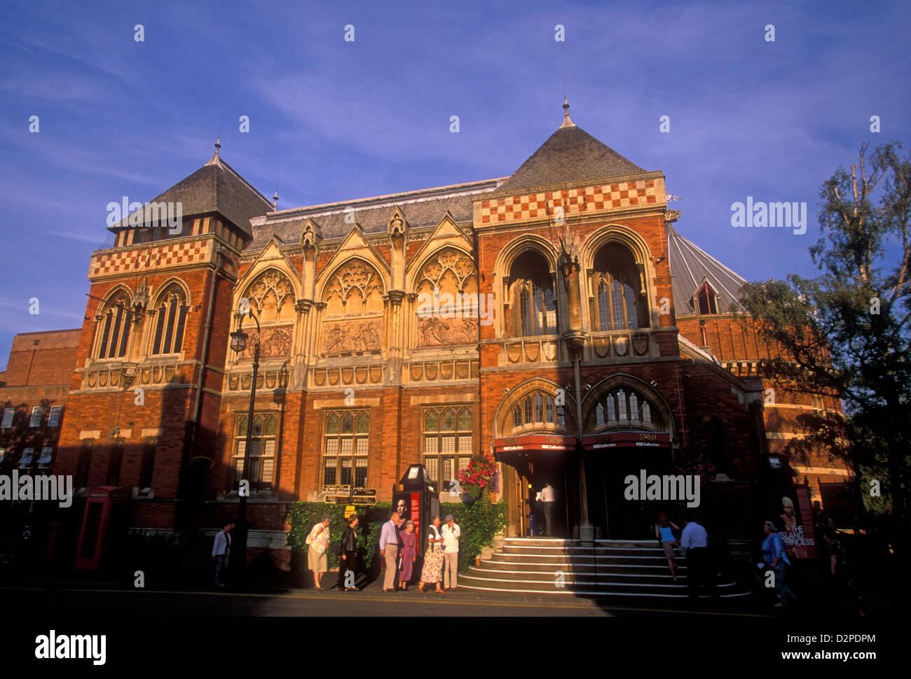 Swan Theatre, Stratford-upon-Avon, Warwickshire County, Britain, Great Britain, England, United Kingdom - Stock Image