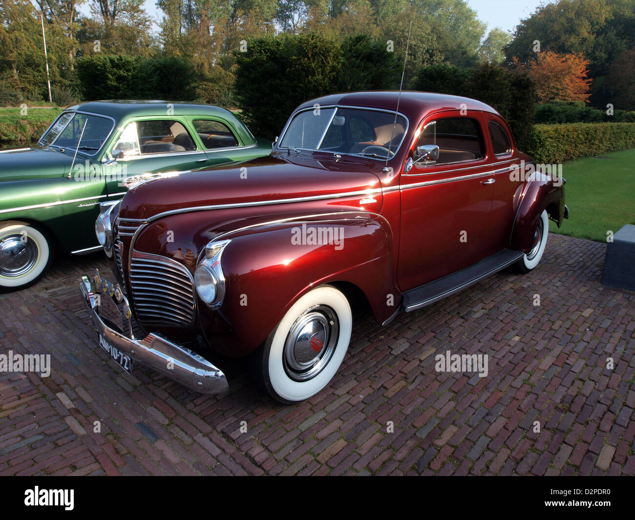 1941 Plymouth P12 Coupe Stock Photos Business Image