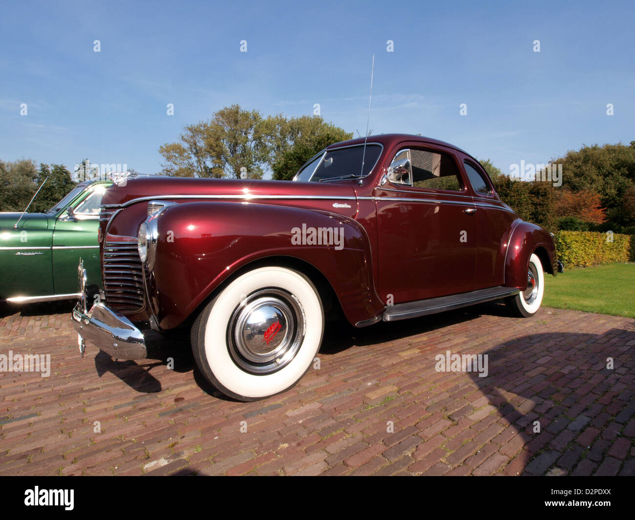 Plymouth Coupe Stock Photos Images Alamy 1941 Deluxe 2 Door P12 Image