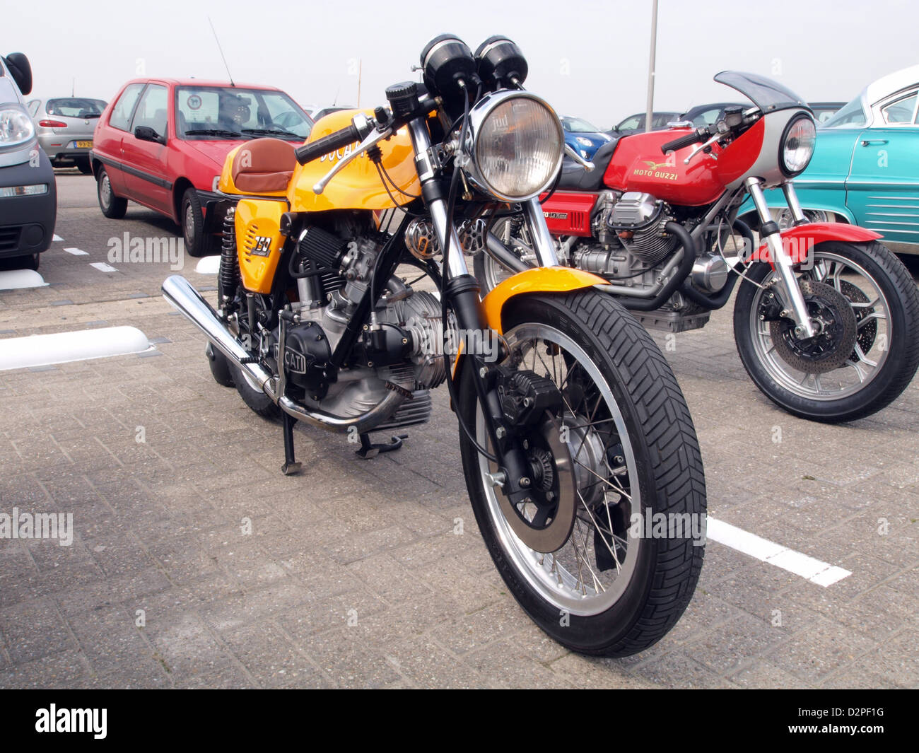 Ducati 750 Sport - Stock Image
