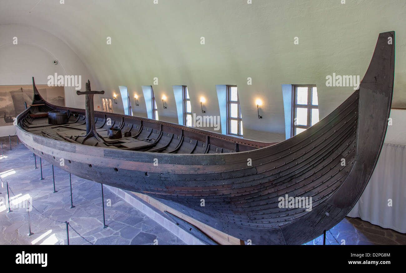 Viking Ship Museum In Oslo Norway Houses 3 Ships And Artifacts Stock Photo 53356148
